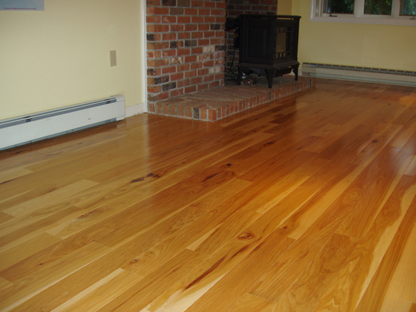 Dustless wood floor refinishing